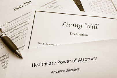 image of will, trust and healthcare directive